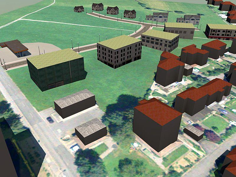 Vermessung und Geomatik: 3D Stadt- und Landschaftsmodell zur Projektplanung