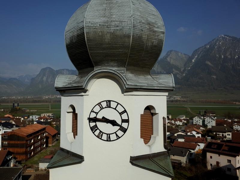 Geomatik und Vermessung: Inspektionsflüge für Denkmalschutz