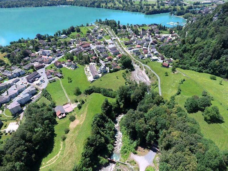 Geoamtik und Vermessung: Dokumentation Bachverlauf mittels Drohnenflug