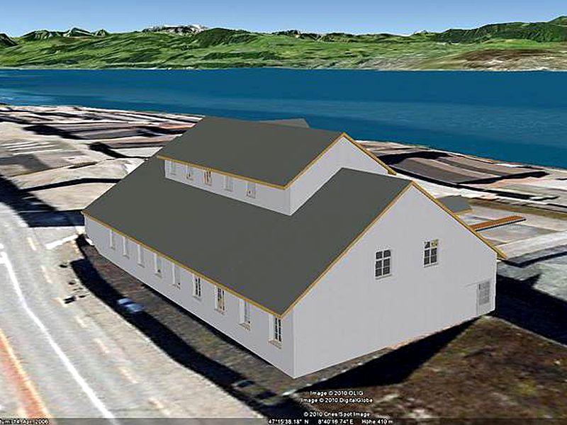 Vermessung und Geomatik:3D Visualisierung in Google Earth