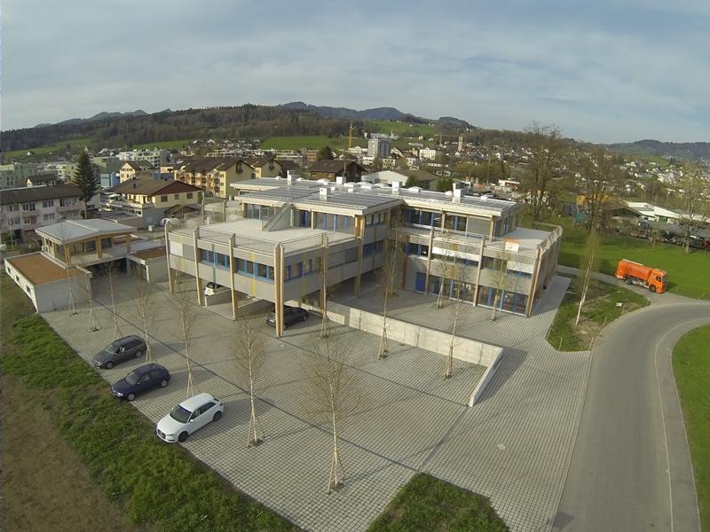 Planungszentrum Linth: Vermessung mit Drohnen