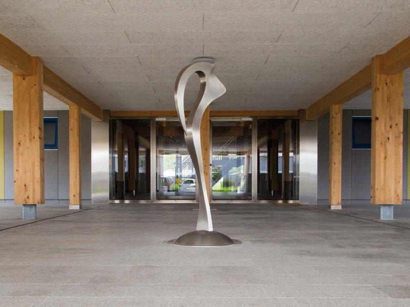 Planungszentrum Linth: Kunst am Bau